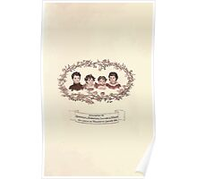 LIttle Ann and Other Poems by Jane and Ann Taylor art Kate Greenaway 1883 0007 Dedication Poster