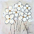 White Flowers by BenPotter