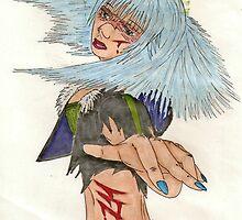 Blind Warrior - Coloured by Viqqe