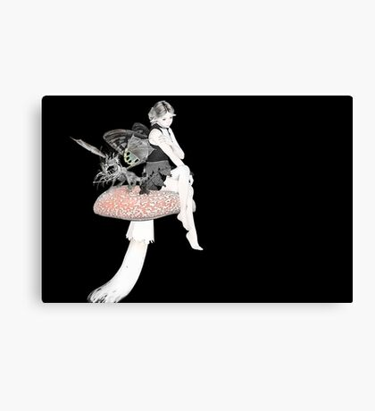 Fae and Friend Canvas Print