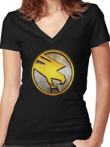 GDI Women's Fitted V-Neck T-Shirt