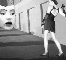 The Mask - Self Portrait by Jaeda DeWalt