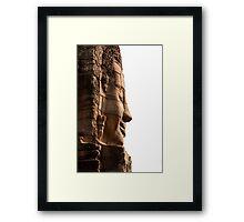 The Bayon 1 - Siem Reap Framed Print