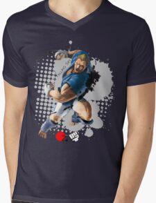 Falling Sky Mens V-Neck T-Shirt