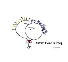 Never rush a hug Photographic Print