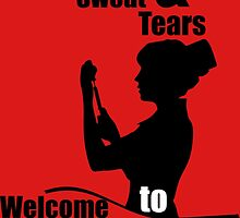 blood sweat and tears welcome to nursing by trendz