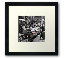 NYC Standstill Framed Print