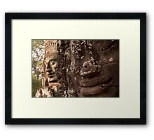 The Bayon 4 - Siem Reap Framed Print