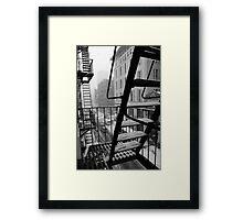 Bleecker winter Framed Print