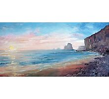 Gibsons Beach Sunset, Port Campbell Photographic Print