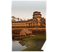Angkor Wat at Sunset Poster