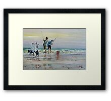 Waiting For A Feed... Framed Print