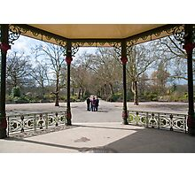 Bandstand View Photographic Print