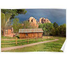 Cathedral Rock, Sedona, AZ  Poster
