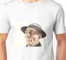 Pete Postlethwaite 266 views as at 5th May2011 Unisex T-Shirt