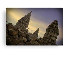 prambanan temples Canvas Print