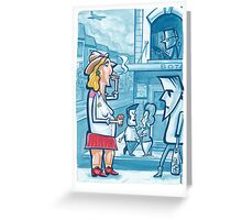 Incident at the Botany View - Observed Greeting Card