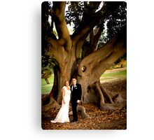 Mr and Mrs Shaw Canvas Print