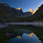 Last Light At Lake MacKenzie by Tannachy