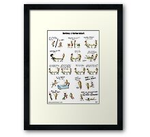 Dating a naturalist Framed Print