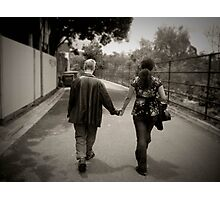 Hand in Hand Photographic Print