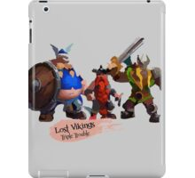 Triple Trouble iPad Case/Skin