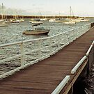 Ocean Wharf by TMphotography