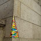 lego wall in Manhattan by JamesRoberts