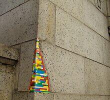 lego wall in Manhattan by JamesRoberts