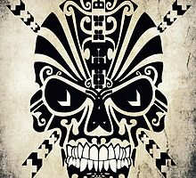The Devil Inside - Cool Skull Vector Design by Denis Marsili - DDTK