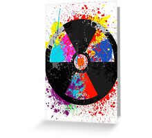 Color Radiation Greeting Card