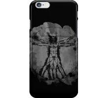 Vitruvian Man - Leonardo Da Vinci Tribute Art T Shirt iPhone Case/Skin
