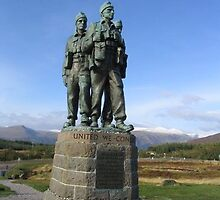 Commando Memorial by mike421