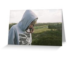 friend with a view Greeting Card