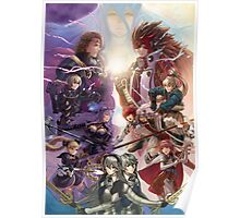 Fire Emblem if / Fates - Hoshido and Nohr Poster