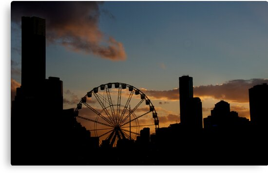 City Silhouette by Dianne English