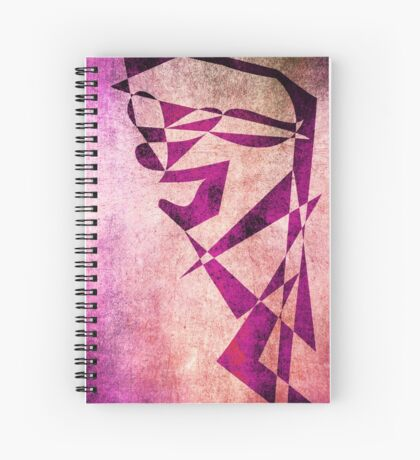 Thief of Hearts - Abstract Vector Art Spiral Notebook