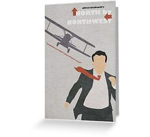 North by Northwest Greeting Card