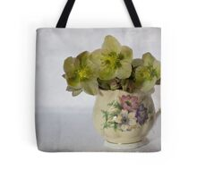 Flowers and jug Tote Bag