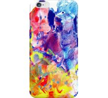 Red Meets Blue iPhone Case/Skin