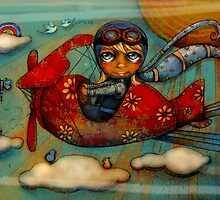 Little Red Plane by © Cassidy (Karin) Taylor
