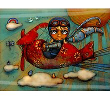 Little Red Plane Photographic Print