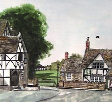 """""""A Neighbourly Chat"""" - Lacock, Wiltshire by Timothy Smith"""