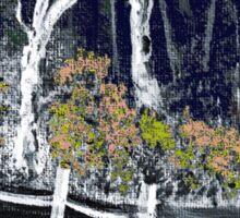 'Snow whites Wood - Midnight' Sticker