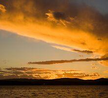 Warners Bay Sunset by Melina Roberts