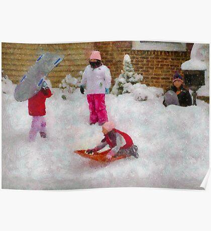 Winter - Winter is Fun Poster