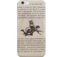 The Queen of Pirate Isle Bret Harte, Edmund Evans, Kate Greenaway 1886 0018 Riding iPhone Case/Skin