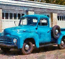 Truck - An International old truck by Mike  Savad