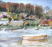 """Ratty's River"" - Lerryn, Cornwall by Timothy Smith"