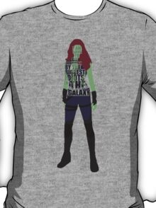 Gamora Typography T-Shirt